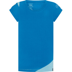 La Sportiva Chimney T-Shirt Women neptune/pacific blue